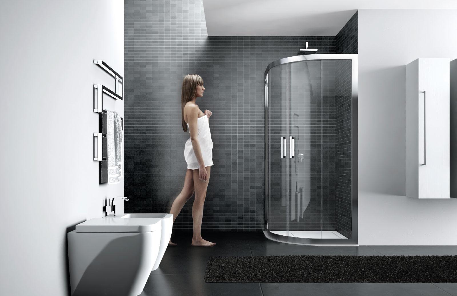 Quadro box doccia con telaio disenia - Disenia piatto doccia ...