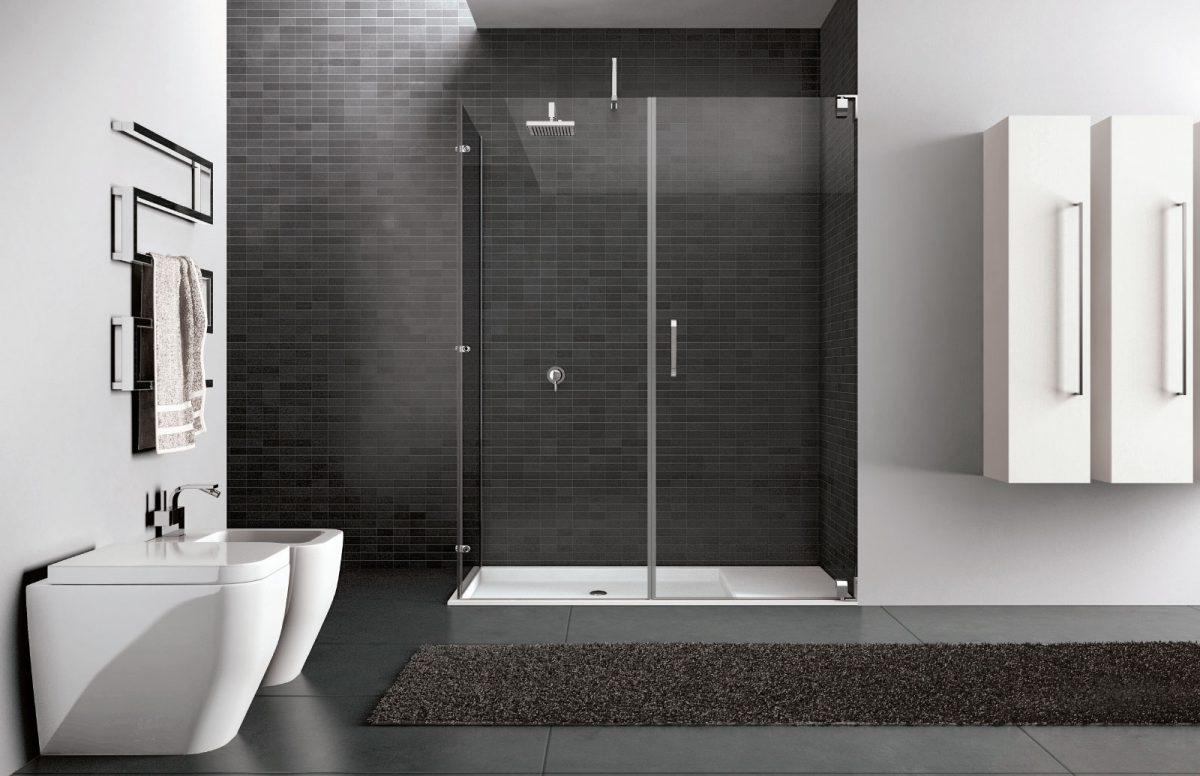 Hand box doccia in cristallo disenia - Disenia piatto doccia ...