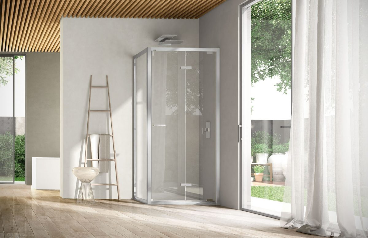 Docce grandi box doccia acrilico lati apertura scorrevole for Cabina doccia eklis montaggio