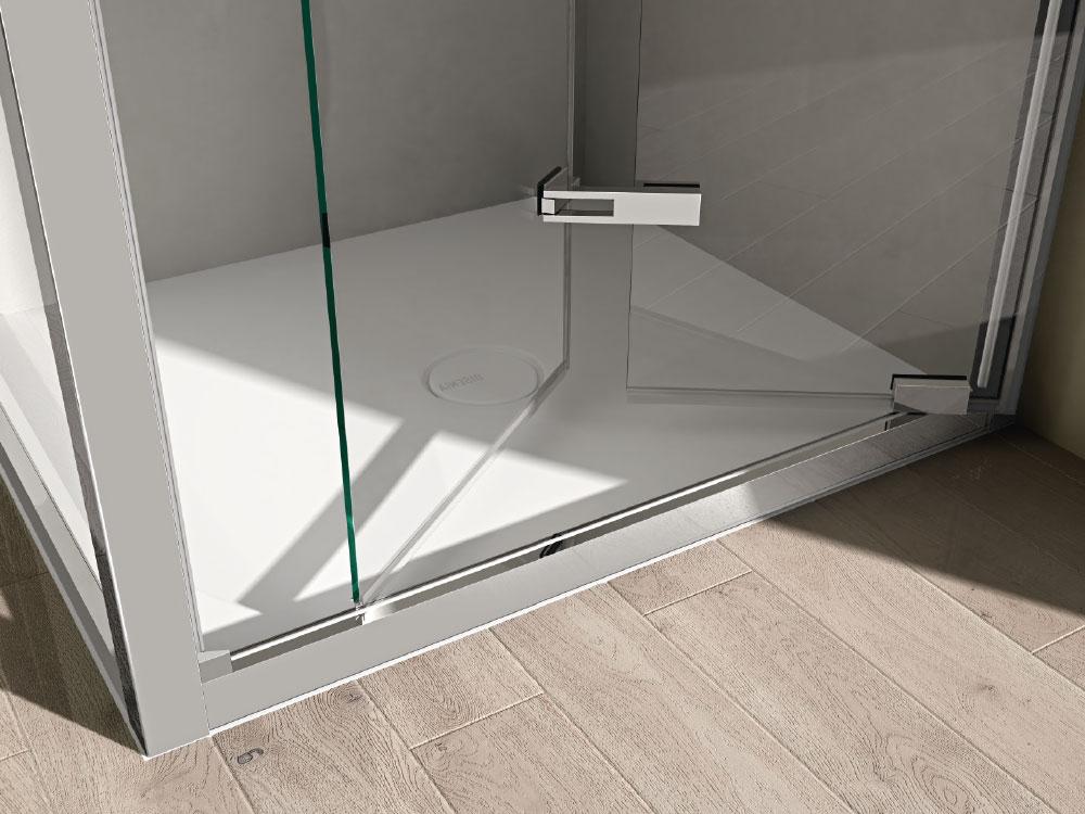 Like box doccia intelaiato disenia - Porta a soffietto per doccia ...