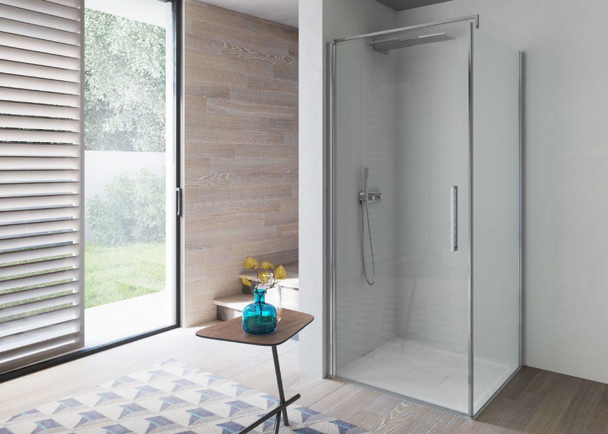 Omega box doccia in nicchia disenia - Porta a battente significato ...