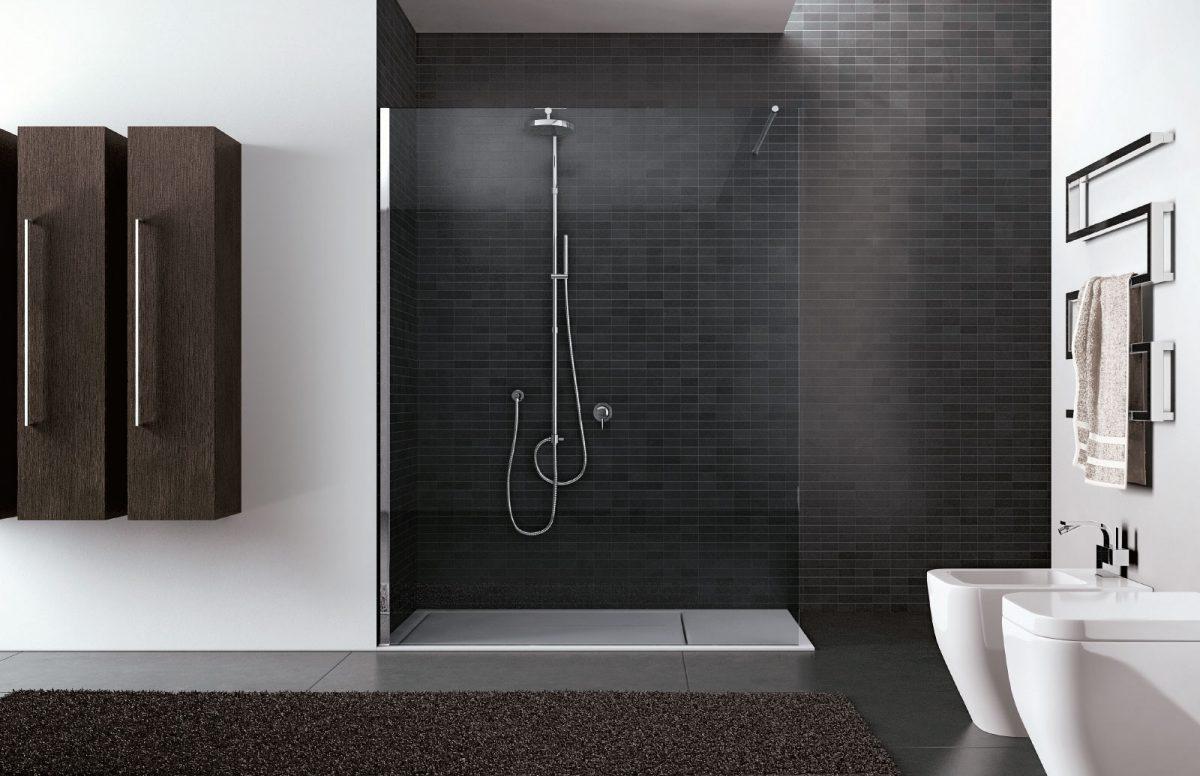 Super Walk-in - Box doccia senza profili - Disenia LW23