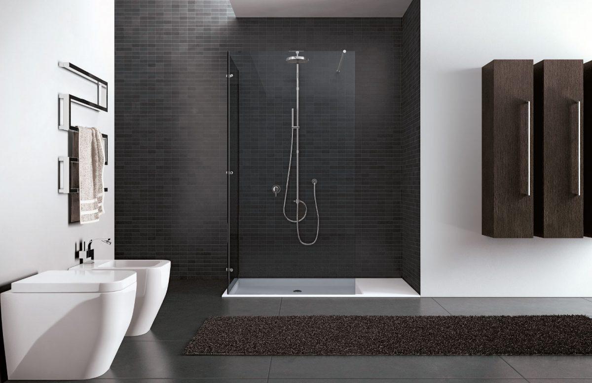 Walk in box doccia senza profili disenia - Doccia con finestra dentro ...
