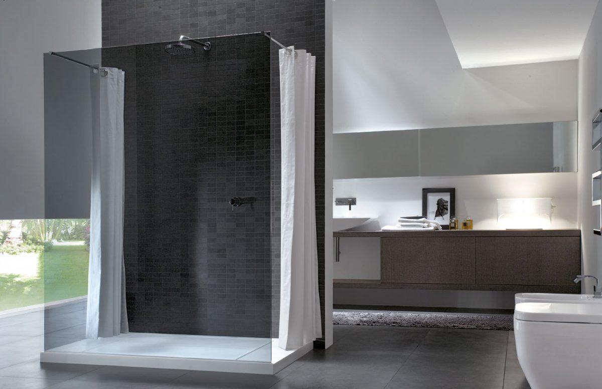 Walk in box doccia senza profili disenia - Box doccia senza telaio ...