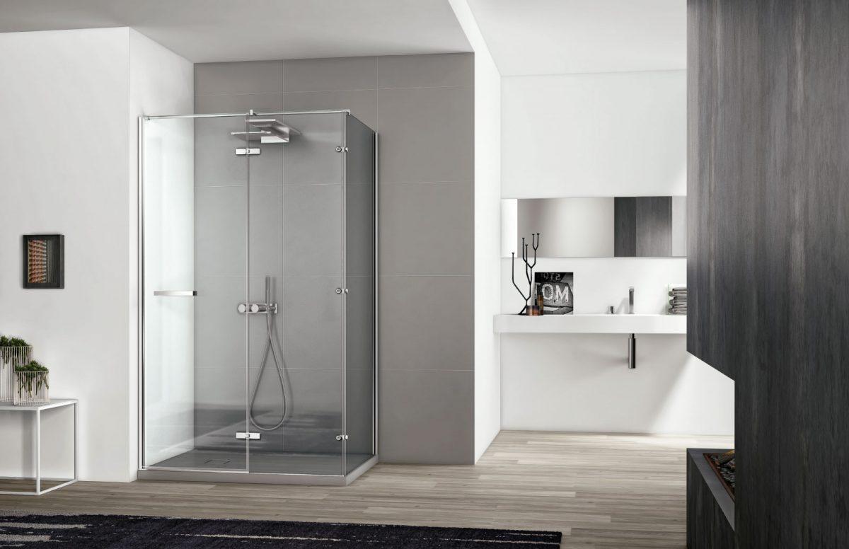 Smart cabina doccia moderna disenia - Profilo rivestimento bagno ...