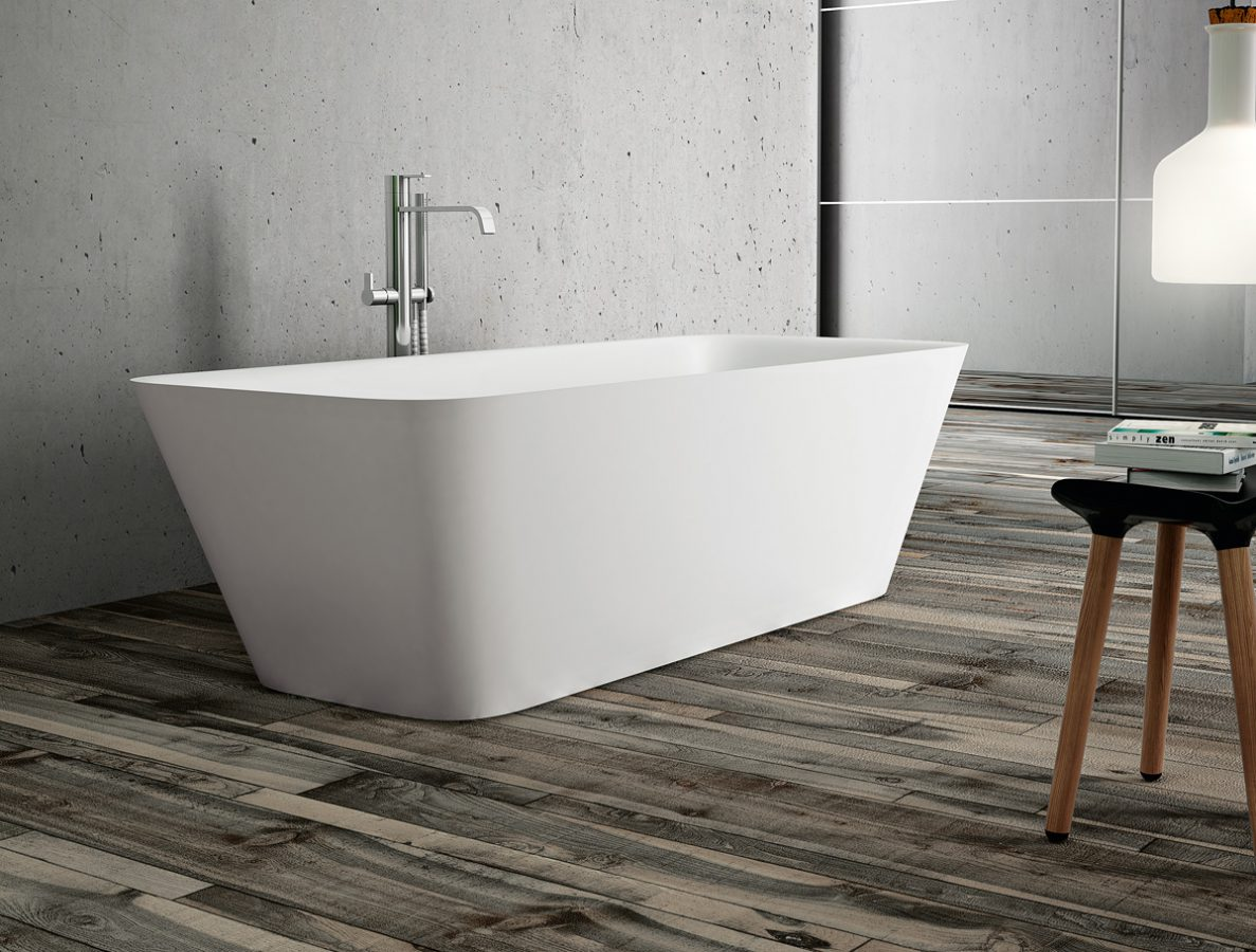 Equal vasca da bagno rettangolare disenia - Vasca da bagno grigia ...