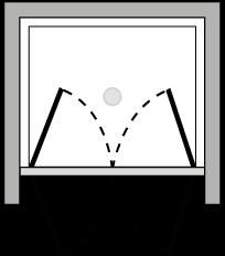 FR2P : Porta doppio battente (in nicchia)