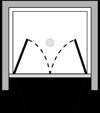 LB2P : Porta doppio battente (in nicchia)
