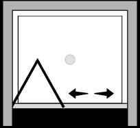 LKSF : Porta a soffietto (in nicchia)