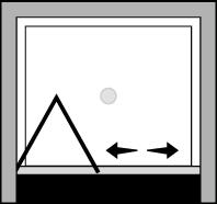 OMSFNI : Porta a soffietto (in nicchia)