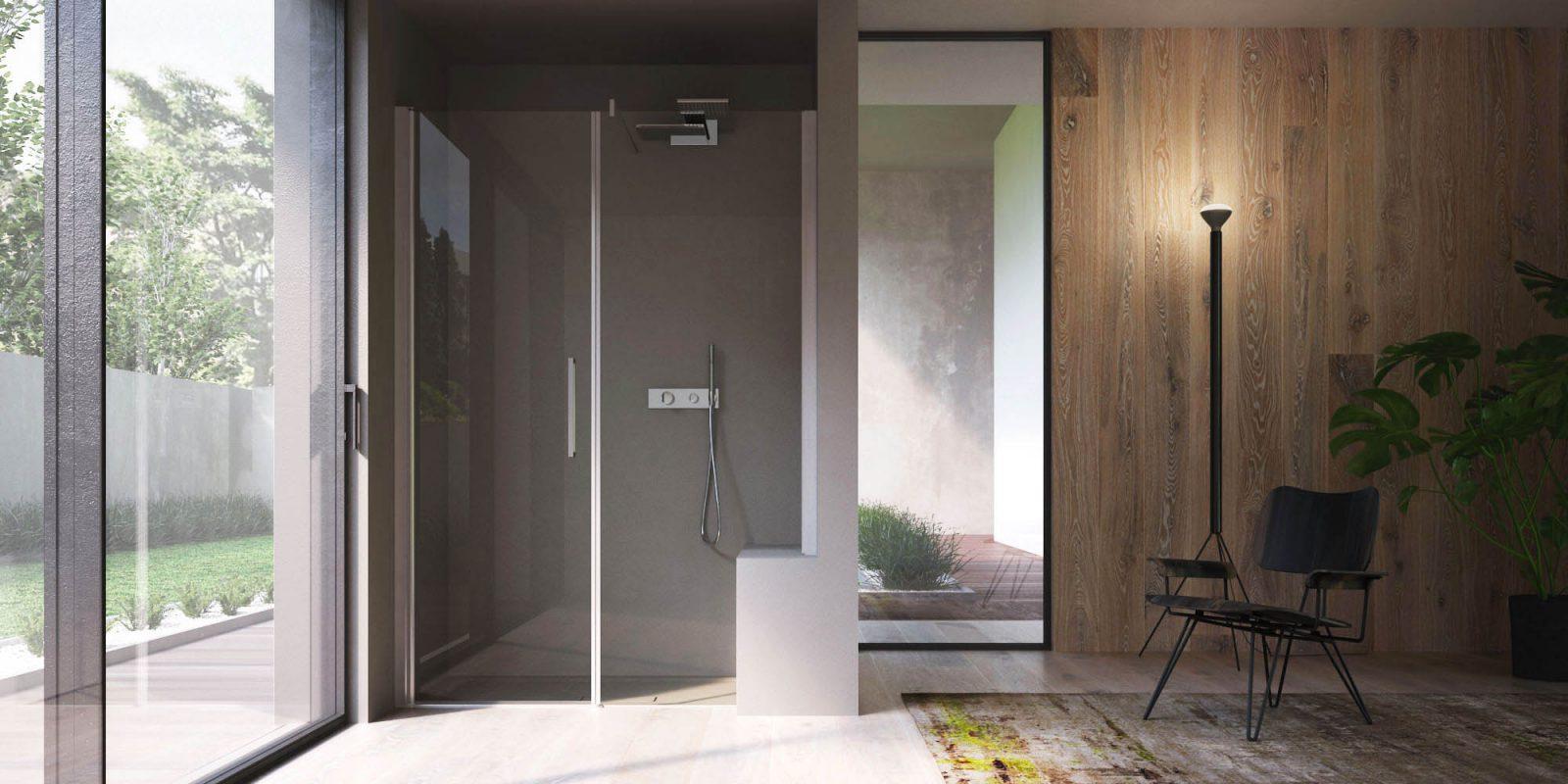 Box doccia piatti doccia vasche e accessori per docce disenia - Cabine doccia su misura ...