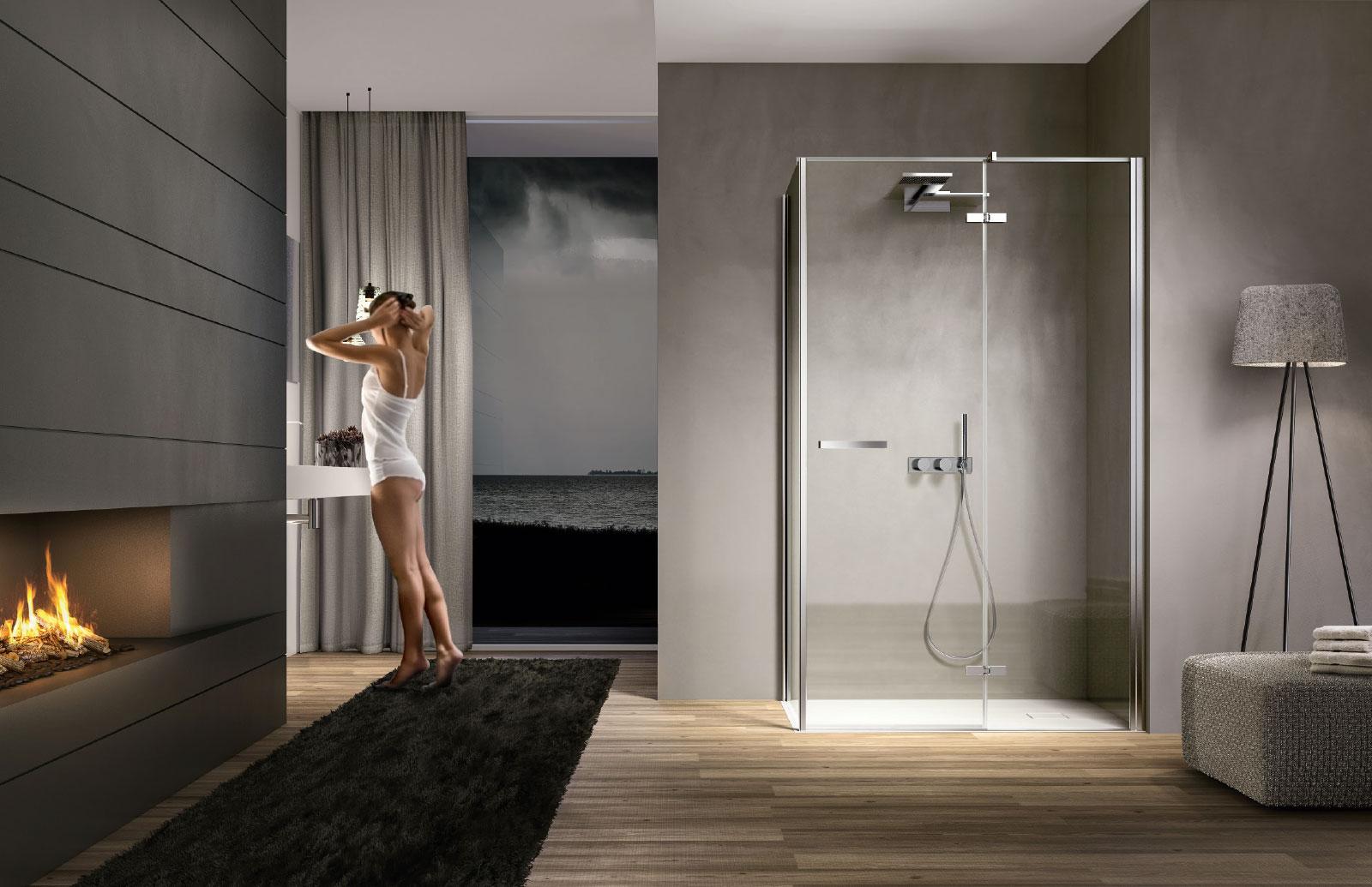 Smart cabina doccia moderna disenia for Foto di sale moderne