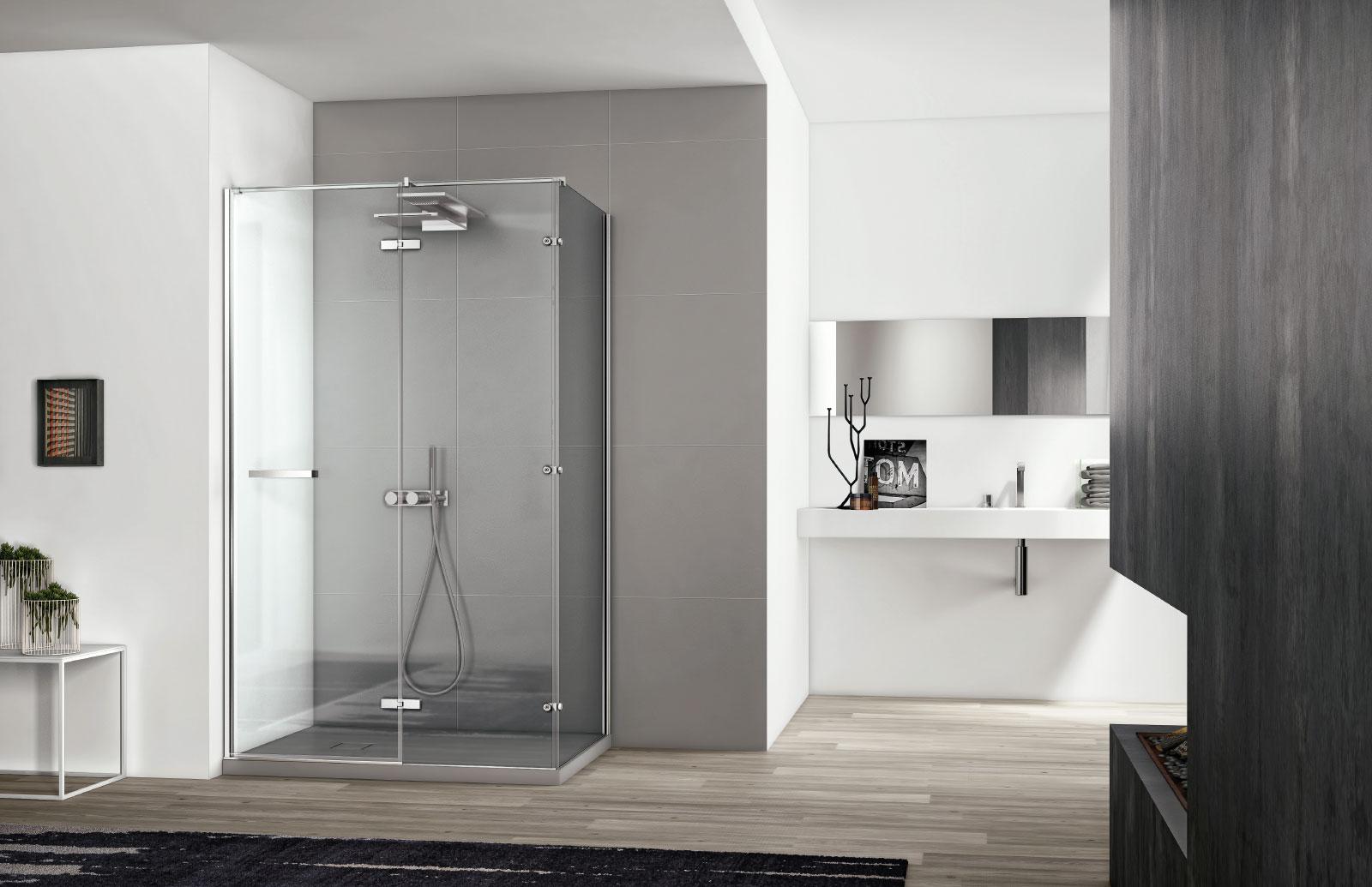 Cabine doccia moderne smart minimal disenia 4 disenia - Cabine doccia prezzi ikea ...