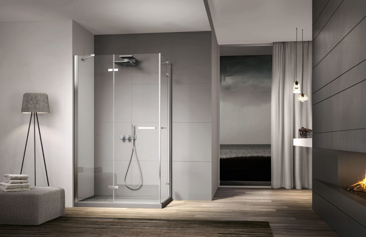 Smart cabina doccia moderna disenia - Cabina doccia muratura ...