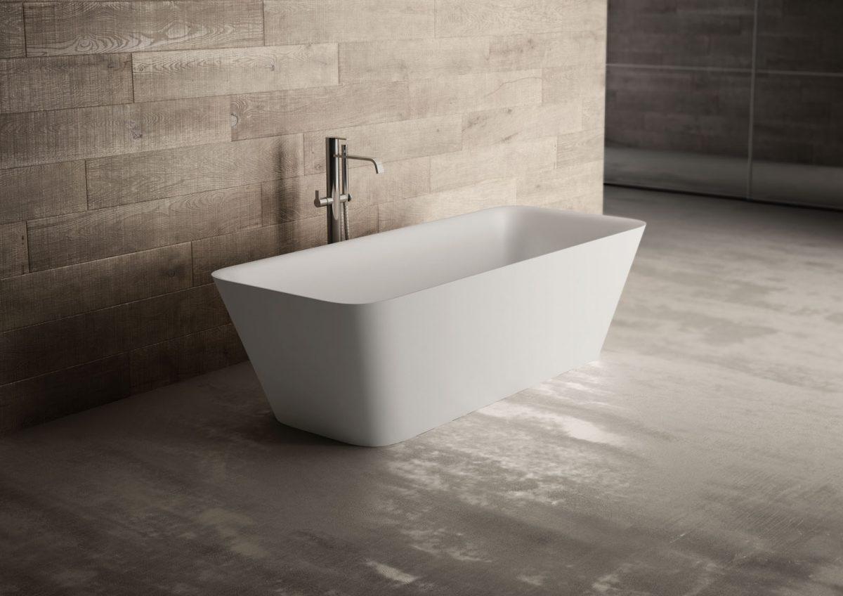 Vasca Da Bagno Freestanding Rettangolare : Equal vasca da bagno rettangolare disenia