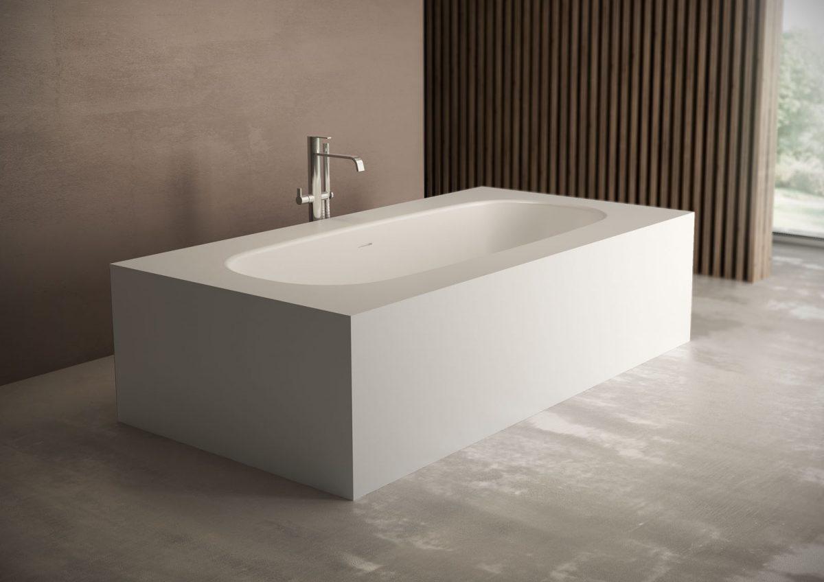 Vasca Da Bagno In Acrilico 180x81x60 Design Freestanding Ovale : Vasche da bagno porcelanosa prezzi bagni pi di prodotti per i