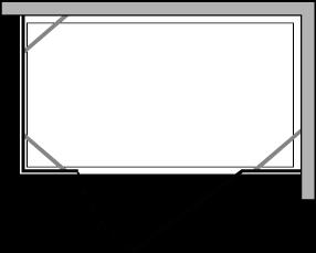 CN2F + CNPL : Porta battente con doppio lato fisso (componibile)