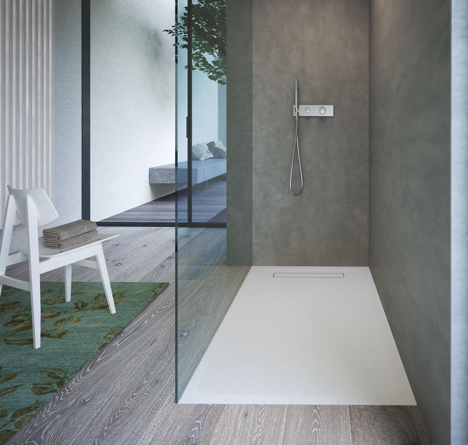 foto de Street Piatto doccia moderno in Aquatek Disenia