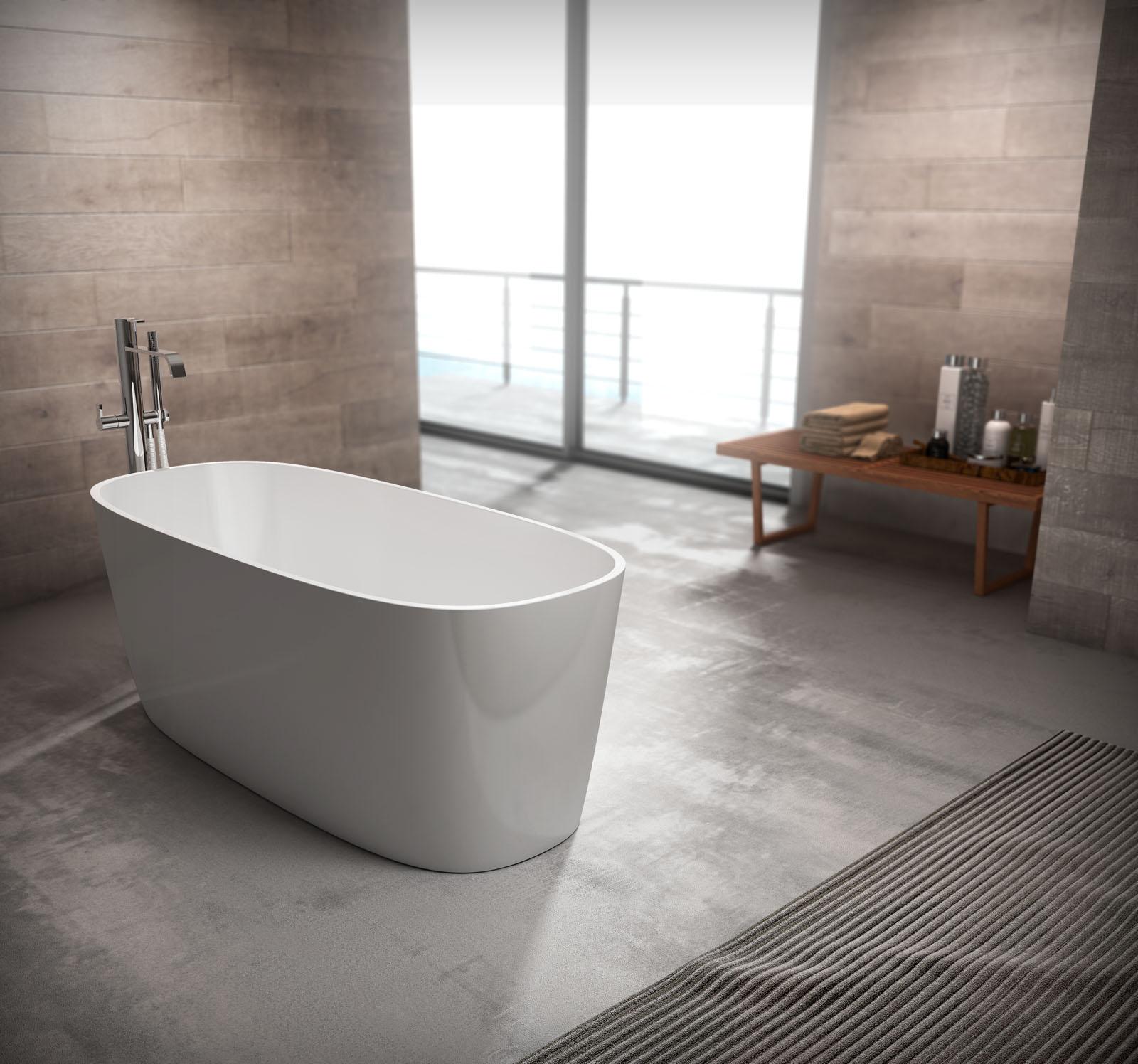 Loop vasca da bagno di design disenia - Vasca bagno design ...